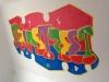 Graffiti op Vlieland