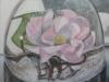Schudbol met bloem